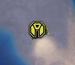 The Commander's strategic icon